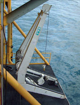 MOB and life-boat davit for ships (electro-hydraulic ) HL 9D TTS Marine
