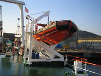 MOB boat and lifeboat single pivot davit for ships PRH SERIES Ned - Deck Marine