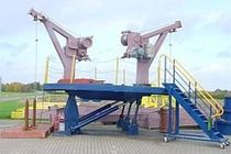 MOB boat gravity davit for ships RSP.O. GLOBAL DAVIT