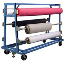 mobile storage rack for cloth rolls (for boatyards and shipyards) A-FRAME Eastman