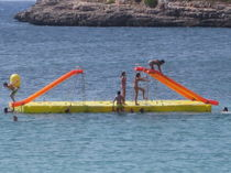 modular floating platform ISLA La Noria y Rotecsa