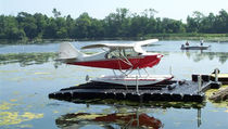 modular floating seaplane drive-on dock  Jet dock
