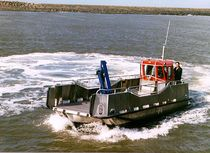 motor-boat : landing craft (aluminium, utility) ALN 017 - WAVE SUPPLIER CLASS Alnmaritec