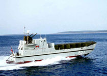 motor-boat : landing craft (utility) LAC 22 Montmontaza Greben
