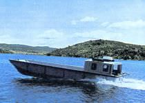 motor-boat : landing craft (utility) LUB 11 Montmontaza Greben