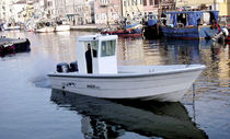 motor-boat : outboard center console boat (wheelhouse, utility) BREEZE MARE Conero