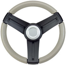 motor-boat steering wheel (leather) MUSTANG EQ SERIES Detmar
