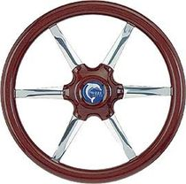 motor-boat wooden steering wheel MERCURY OBA Tradizione futura