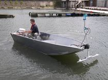 motor-boat : aluminium open boat (utility) AUB 3.8 Water Witch Workboats