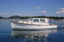 motor-boat : express-cruiser (downeast) 34' Wilbur