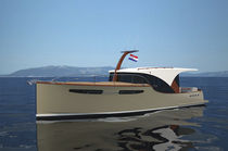 motor-boat : express-cruiser (downeast, wooden) POWER 39H Enavigo Yachts