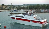 motor-boat : in-board cabin-cruiser (sport) 24 Bluefin Boats