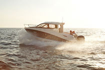 motor-boat : in-board cabin-cruiser (with enclosed cockpit) Activ 705 Cruiser Quicksilver Boats