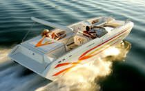 motor-boat : in-board deck-boat 27 FUN DECK Eliminator