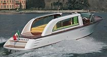 motor-boat : in-board runabout (yacht tender) LIMOUSINE 28 Comitti Yachts