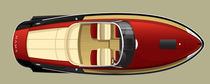 motor-boat : in-board runabout (yacht tender) MPYD SPORT  Hodgdon Yachts