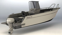 motor-boat : outboard center console boat 5.0 aurora (dalian) yachts co ltd