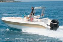 motor-boat : outboard center console boat (sundeck) 19 FISHERMAN cantiere nautico marinello srl