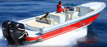 motor-boat : outboard center console boat (twin engine) EXPRESSION 29' HBS Expression Boat