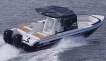 motor-boat : outboard center console boat (yacht tender) CHASE 31 Novurania