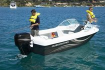 motor-boat : outboard dual console boat CW1580 Whittley