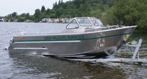 motor-boat : outboard dual console boat (aluminium, utility) GW 22'-28' Tuff boat