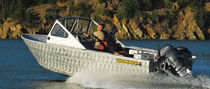 motor-boat : outboard runabout (aluminium, utility) M 19 Workskiff Inc