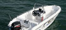 motor-boat : outboard side console boat 420 SC  Atomix Boats