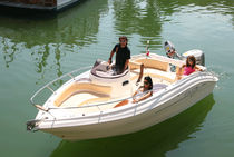 motor-boat : outboard side console boat 590 OPEN Cantiere Eolo