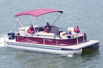 motor-boat : pontoon boat (11 person max.) CRUISER CX 200 HarrisKayot