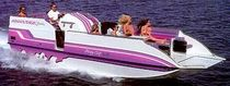 motor-boat : pontoon boat I/O (in-board, stern-drive) 26 PARTY CAT LX Advantage Boats