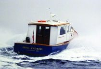 motor-boat : trawler HOLLANDAISE 1997 Covey Island Boatworks