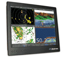 multifunction monitor for boats (PC, video, navigation system)  EMMI Network