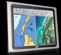 multifunction monitor for boats (PC, video, navigation system, touchscreen) AFL 19 Locomarine