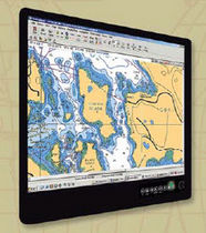 multifunction monitor for yachts and ships (PC, video, navigation system, touchscreen) CS SERIES SUNLIGHT ComNav