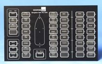 navigation lights monitoring and control panel for yachts and ships  MariTeam Lighting Inc.