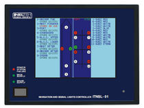 navigation lights monitoring and control panel for yachts and ships ITNSL-01T Inelteh d.o.o.
