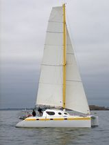 ocean cruising catamaran (sailboat) AMBERCAT 110 Lerouge yachts