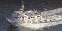 oceanographic research vessel (catamaran, shipyard) 62′ SHEARWATER  All American Marine