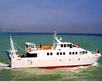 oceanographic research vessel (shipyard)  Bugari