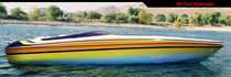offshore power-boat : in-board runabout (with cabin) 32 Dana Performance Boats