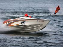offshore power-boat : in-board runabout (ski boat) 21 SR Nordic Boats