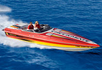 offshore power-boat : in-board runabout (with cabin) 300 Checkmate