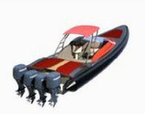 offshore power-boat : rigid inflatable boat (outboard) 40 OFFSHORE Mancini s.a.s. di Mancini Giancarlo & Co.