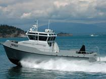 offshore service boat : dive support boat 47' DIVE SUPPORT VESSEL Rozema Boats Works