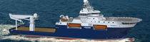 offshore support vessel : construction vessel (shipyard) BN 164 - ISLAND ENFORCER Bergen Group BMV