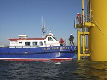 offshore windfarm service boat : crew and logistics transport boat ALN 061 - WAVE SUPPORTER 1300 CLASS Alnmaritec