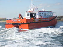 offshore windfarm service boat : crew and logistics transport boat ALN 082 - WAVE COMMANDER Alnmaritec