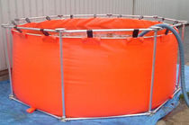 oil temporary storage tank (with frame)  Sorbcontrol