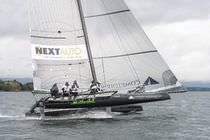 one-design racing catamaran (sailboat) SL33 SL Performance